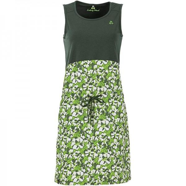 Capri-Kleid mit Blumenprint Damen Kleid