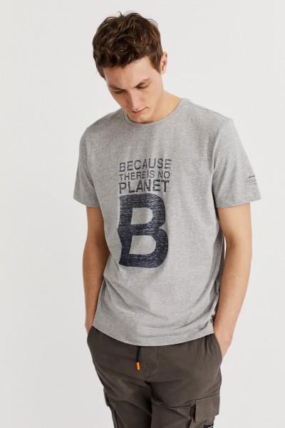 Natal Great B Washed kurzarm Herren T-Shirt