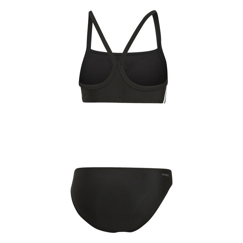 adidas Mädchen Infinitex Bikini, schwarz, 128