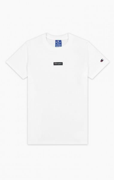T-Shirt mit Jacquard-Logoetikett Damen T-Shirt