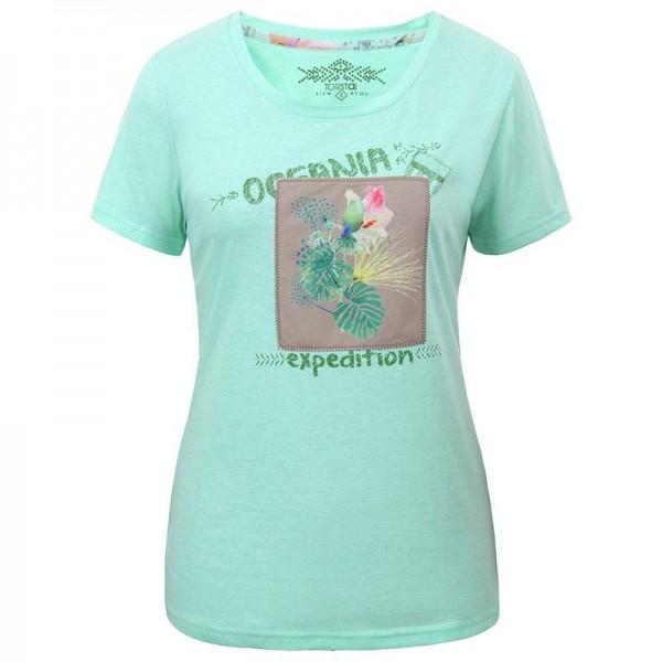 Kirinda kurzarm Damen T-Shirt