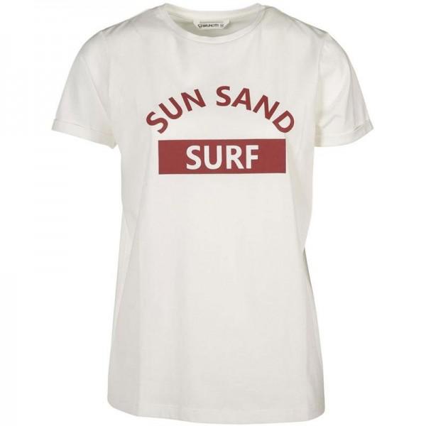 Oulinas Print kurzarm Damen T-Shirt