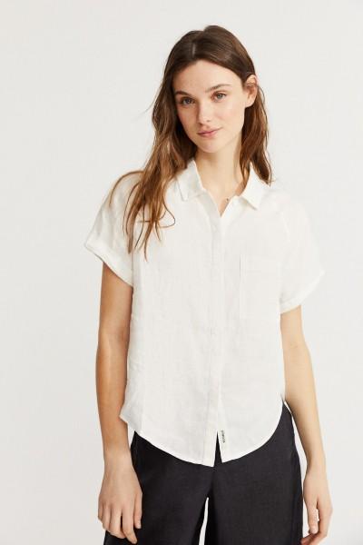 Lychee Shirt kurzarm Damen Hemd