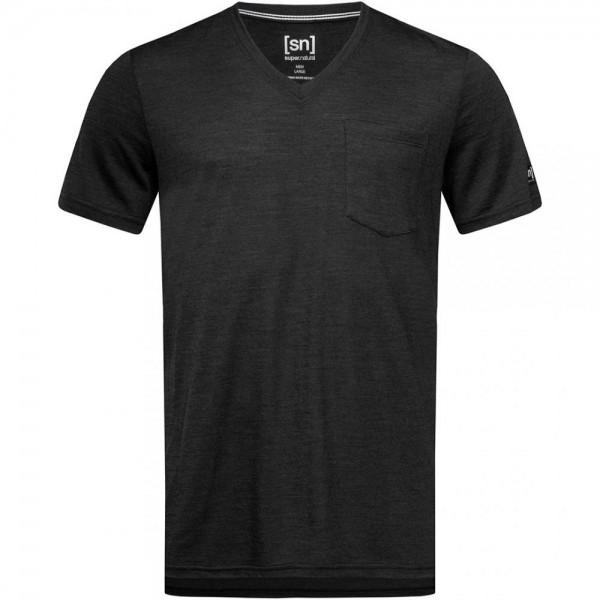 City V-Neck Herren T-Shirt