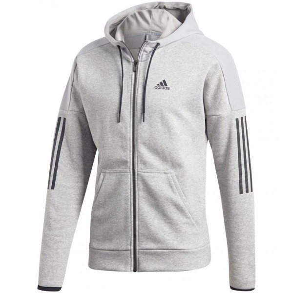 Adidas Sport ID Logo Fleece Full-Zip French Terry Herren Hoodie