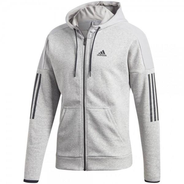 Adidas Adidas Sport ID Logo Fleece Full Zip French Terry Herren Hoodie