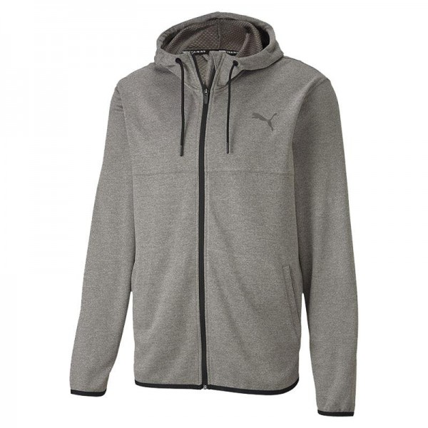 Power Full Zip Knit Herren Sweatjacke