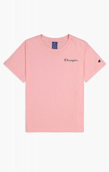 Crewneck mit kleinem Logo-Schriftzug in Vintage-Optik Damen T-Shirt