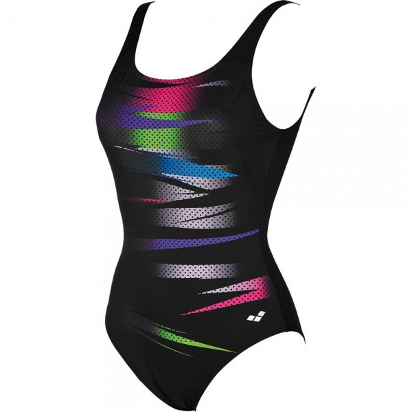 Arena Meg Squared Back One Piece C-Cup Damen Badeanzug