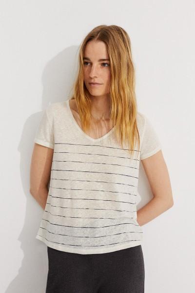 Ceylan kurarm Damen T-Shirt