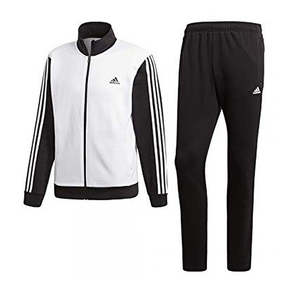 adidas Performance Herren Trainingsanzug Cotton Relax