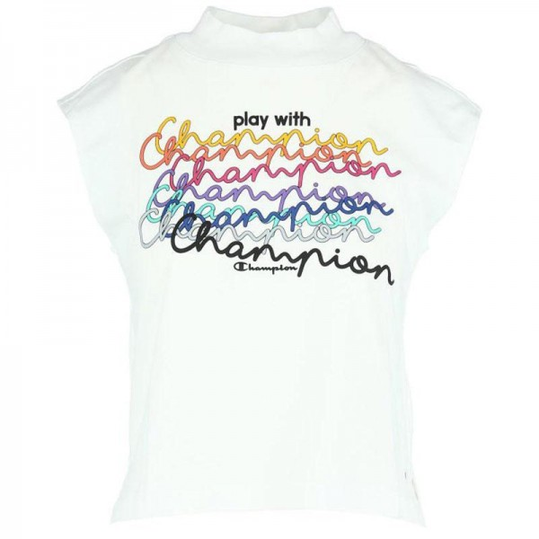 Crewneck Sleeveless Tee Damen T-Shirt