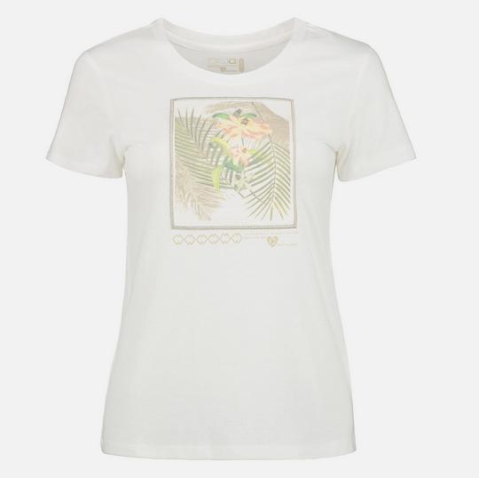 Tahiti kurzarm T-Shirt für Damen