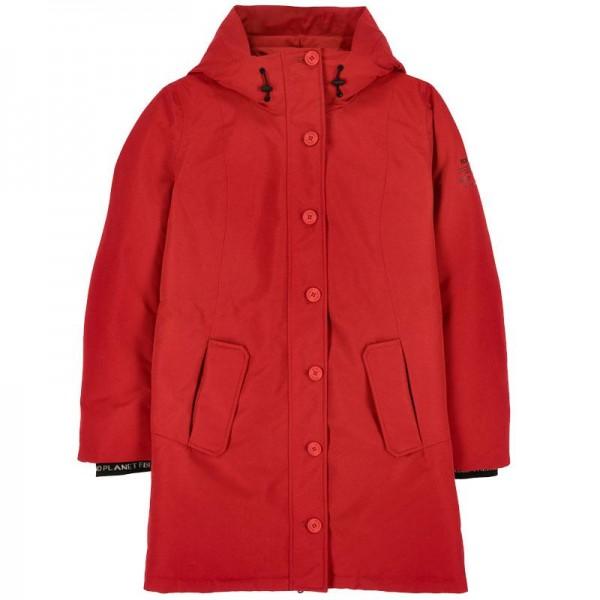 Glacier Because Long Coat langer Damen Mantel